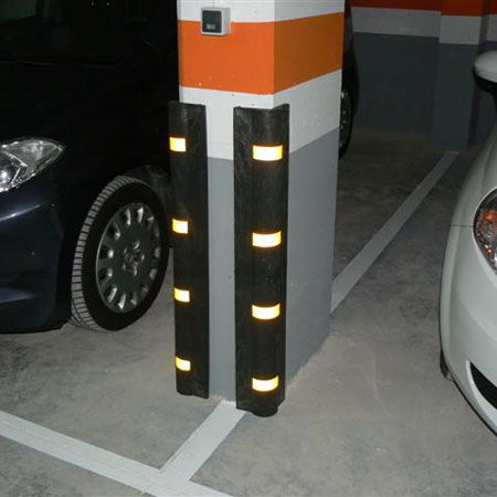 Protector PVC parking