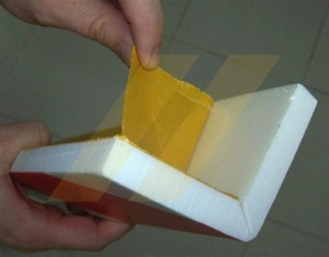 Take the protective paper off